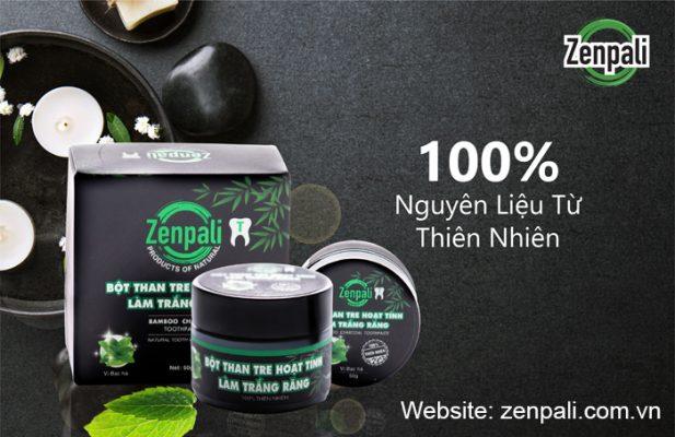 Bột than tre hoạt tính làm trắng răng zenpali là gì Có công dụng gì