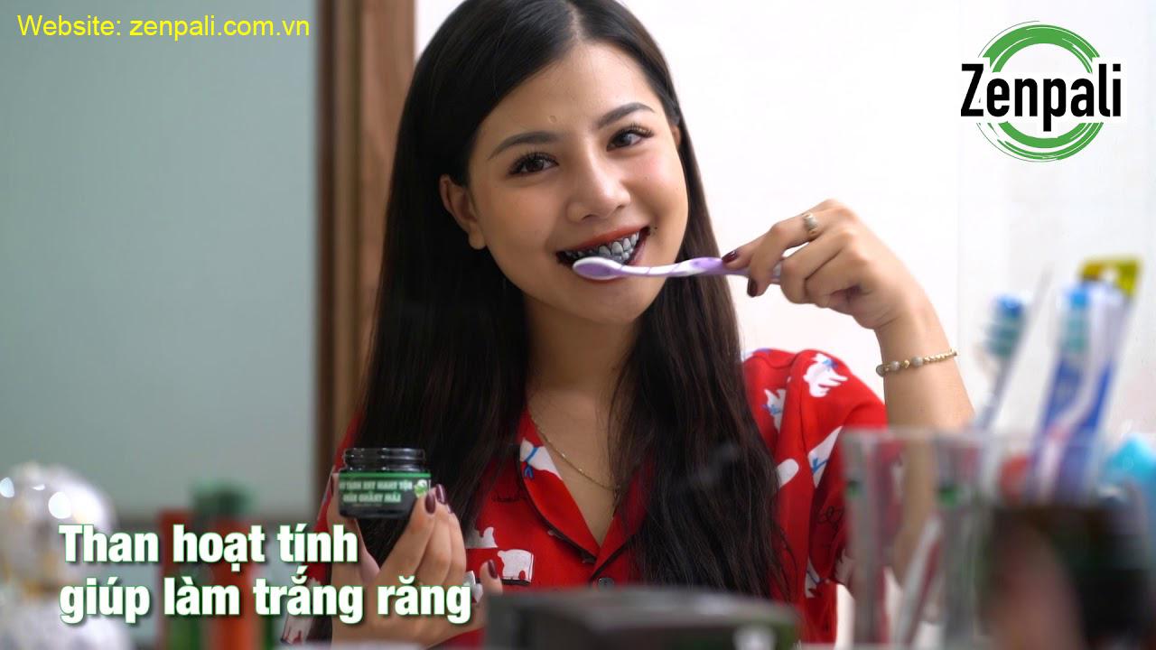 Hướng dẫn sử dụng bột trắng răng Zenpali - Trắng răng từ thiên nhiên