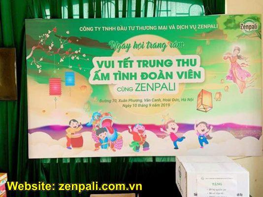 Tết trung thu đoàn viên cùng Zenpali tại Làng Hữu Nghị Việt Nam