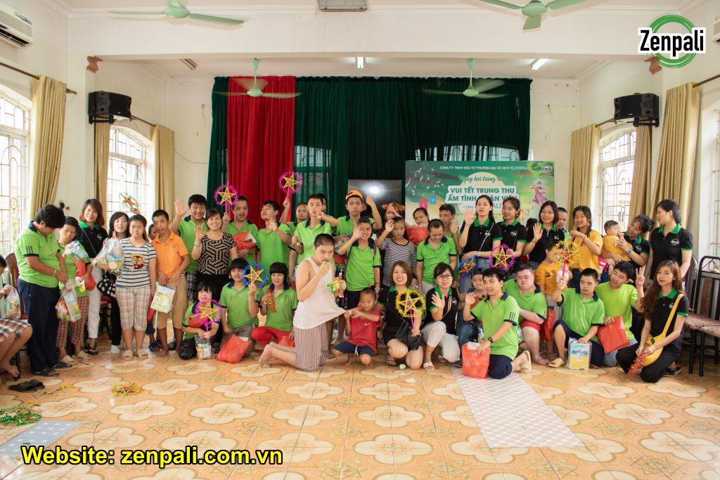 Tết trung thu đoàn viên cùng Zenpali tại Làng Hữu Nghị Việt Nam tap the