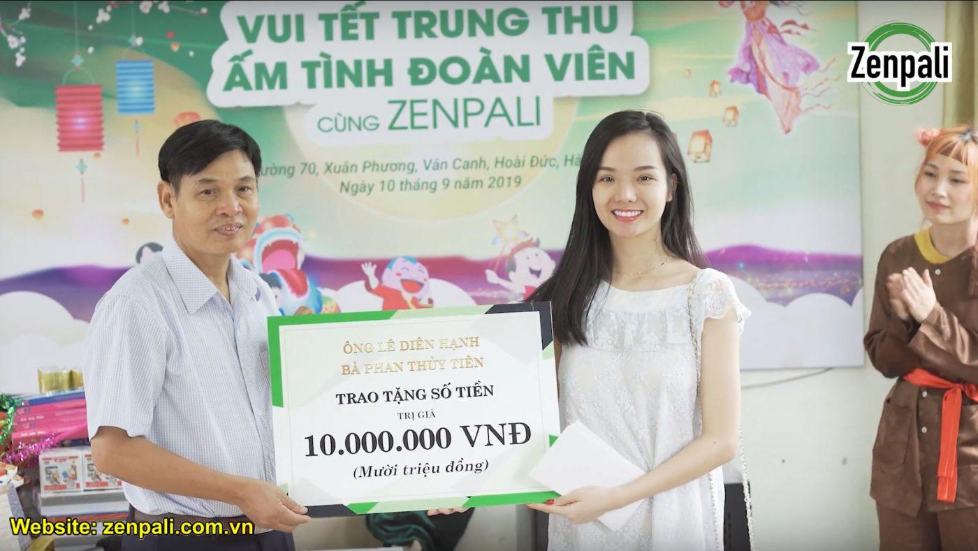 Tết trung thu đoàn viên cùng Zenpali tại Làng Hữu Nghị Việt Nam trao qua 2